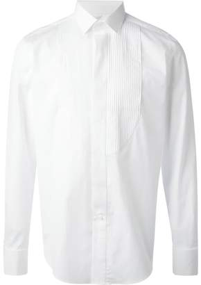 Lanvin pleated bib dress shirt