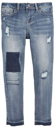 Vigoss Patched Release Hem Jeans
