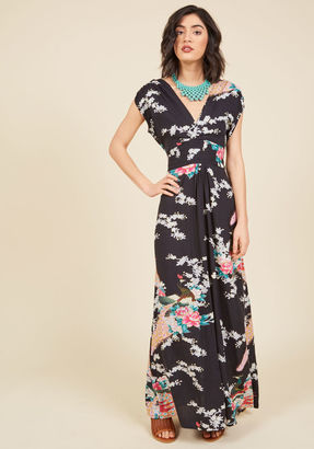 ModCloth Feeling Serene Maxi Dress in Evening in S $89.99 thestylecure.com