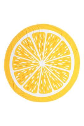 H&M Round Beach Towel - Yellow/Citrus