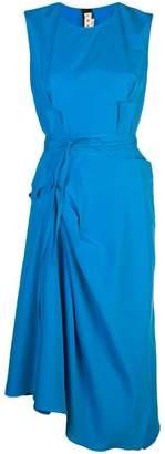 Marni wrrap skirt midi dress