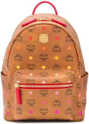 MCM printed logo backpack