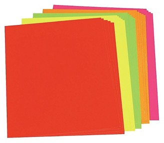 Pacon Neon Poster Board - Assorted Color