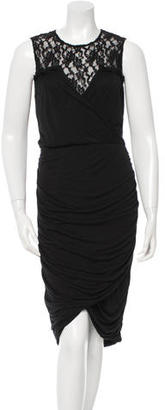 Alice by Temperley Ruched Lace Dress w/ Tags $130 thestylecure.com