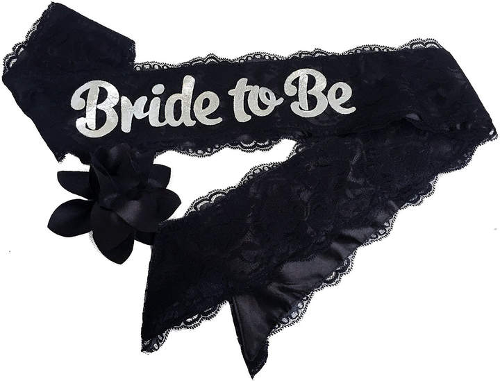 Etsy Bride To Be Lace & Satin Bachelorette Party Sash With Flower Pin Accessory Hen Party Bridal Shower (
