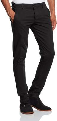 Selected Men's One Luca Chino Size W34/L34 98% Cotton and 2% Elastane.