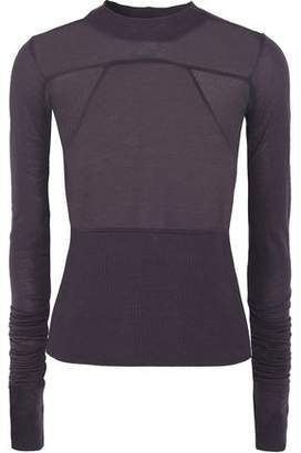 Rick Owens Stretch-Jersey Top