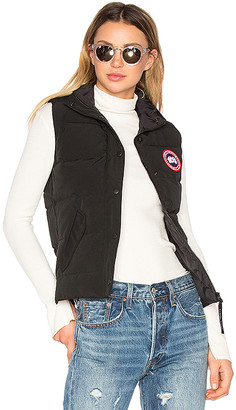 83eca349dd03 Canada Goose Black Women s Vests - ShopStyle