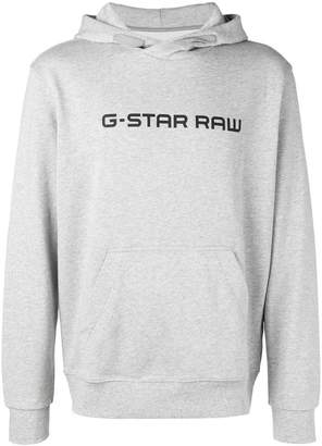 G Star (ジースター) - G-Star Raw Research logo hoodie