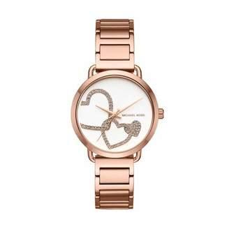 Michael Kors Women's Portia Analog Display Analog Quartz Watch MK3825