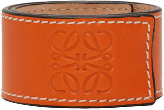 Loewe Orange Small Slap Bracelet