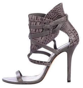 Camilla Skovgaard Embossed Ankle Strap Sandals