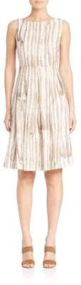 Lafayette 148 New York Madison Striped Zoe Dress