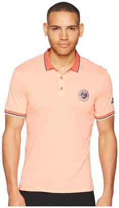 adidas Roland Garros Polo Men's Short Sleeve Pullover