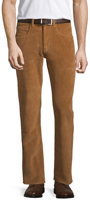 ST. JOHN'S BAY Stretch Straight Fit Corduroy Pants