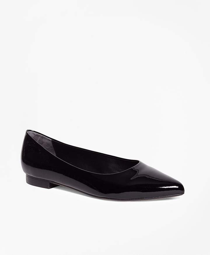 Brooks Brothers Patent Leather Flats