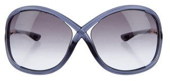 Tom Ford Tom Ford Whitney Oversize Sunglasses
