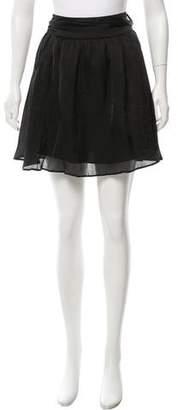 Lanvin Belted Mini Skirt