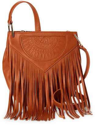 Urban Originals Rose Queen Fringe Crossbody