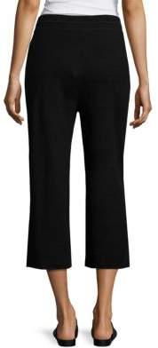 Vince Cotton Cropped Drawstring Pants