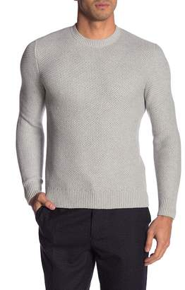 Brooks Brothers Honeycomb Knit Crew Neck Sweater