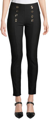 Neiman Marcus High-Rise Sailor Pants