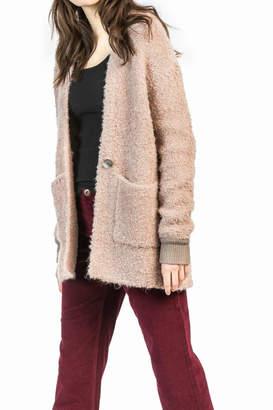 Leo & Sage Long-Sleeve Sweater Coat
