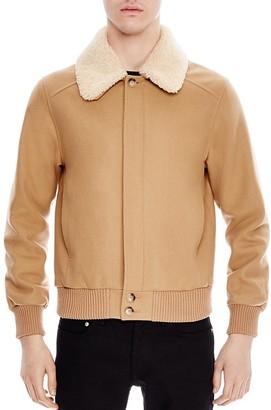Sandro Aviator Bomber Jacket $745 thestylecure.com