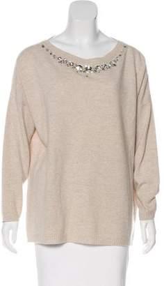 Blumarine Wool & Cashmere-Blend Sweater