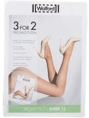 Wolford Sheer 15 Tights w/ Tags