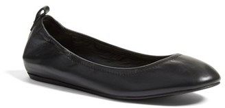 Women's Lanvin Smooth Leather Ballet Flat $550 thestylecure.com