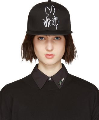 McQ Alexander Mcqueen Black & White Logo Cap $60 thestylecure.com
