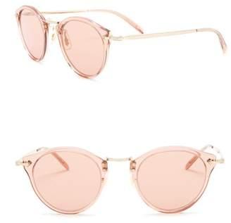 Oliver Peoples Vintage 505 47mm Round Sunglasses