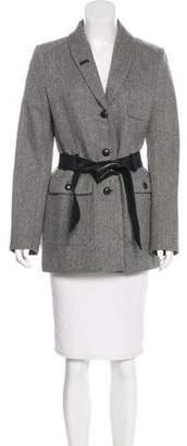 Filippa K Wool Herringbone Coat w/ Tags