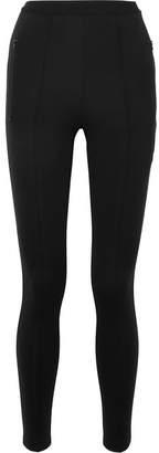 Stretch-jersey Track Pants - Black