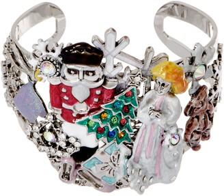Kirks Folly Nutcracker Suite Holiday Cuff Bracelet