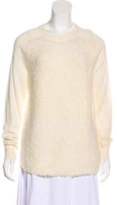 Tibi Long Sleeve Wool Top