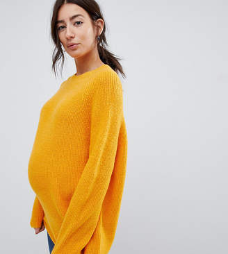 Asos (エイソス) - Asos Maternity ASOS DESIGN Maternity fluffy sweater In rib