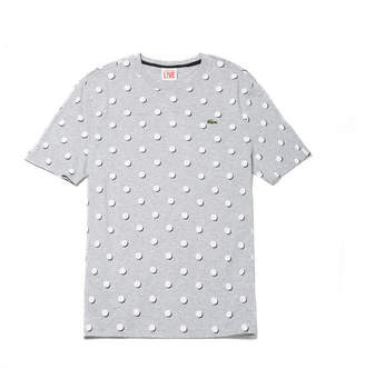 Men's L!ve Crew Neck Polka Dot Jersey T-Shirt $75 thestylecure.com