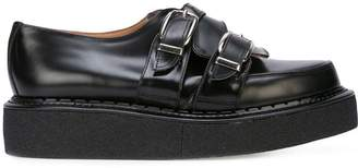 Comme des Garcons George Cox double strap creepers
