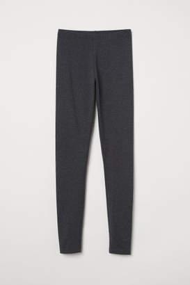 H&M Jersey Leggings - Gray