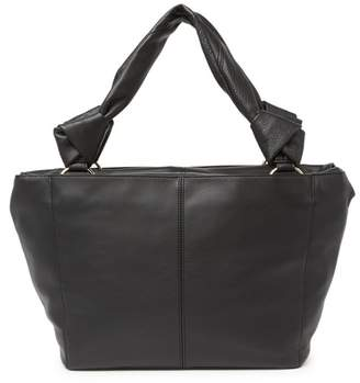 Vince Camuto Dian Pebbled Leather Tote
