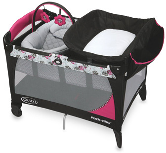 Graco® Pack 'n Play® Playard with Newborn Napper® Station LX - Sable