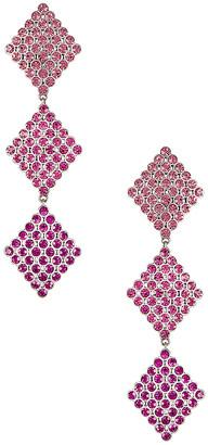 For Love & Lemons Casbah 3 Tier Stone Earrings