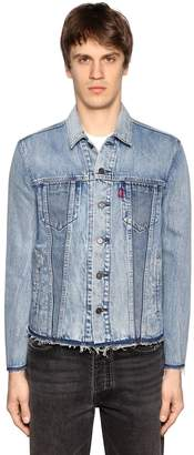 Levi's Raw Cut Altered Trucker Jacket