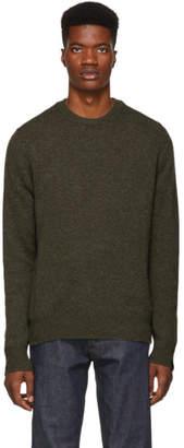 Rag & Bone Khaki Cashmere Haldon Sweater