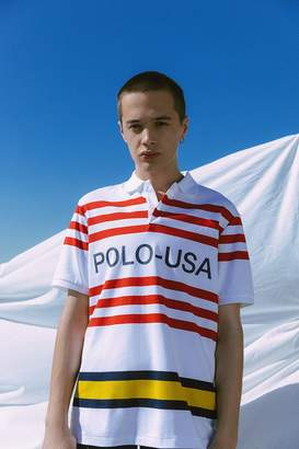 Polo Ralph Lauren Striped USA Polo Shirt