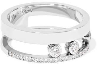 Möve Messika Romane 18-karat White Gold Diamond Ring
