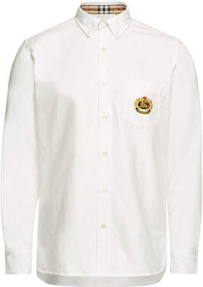 Harry Cotton Shirt with Embroidery