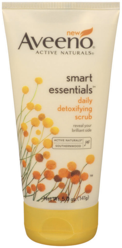 Aveeno Smart Essentials Daily Detoxifying Scrub